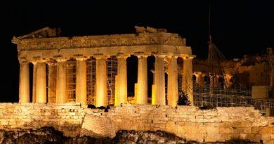 Земля Эллады. Афины. Акрополь. Парфенон.