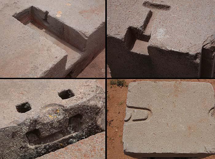 Загадки древних сооружений - металлические скобы