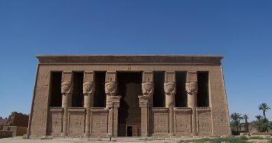 Дендера. Храм Хатхор. Электричество в Древнем Египте.
