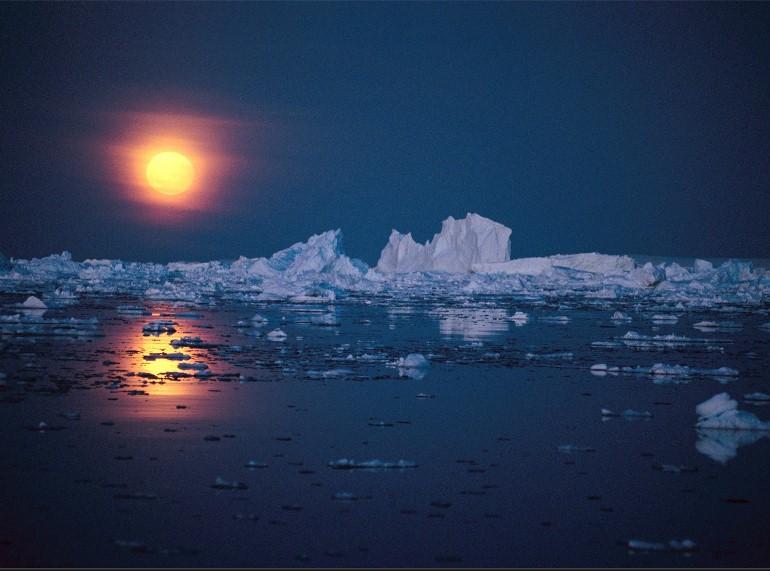 полярная ночь в антарктиде фото сбербанк
