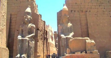 Храмы Египта – чакры человека