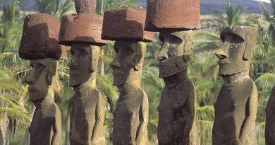 Остров Пасхи — «Пуп Земли» — «артефакт» Лемурии.