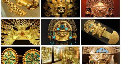 Кумбе Майо. Перу. Золото инков.