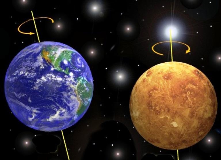 Столкновение Земли с Венерой