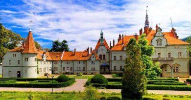 Мистические замки Украины. Замок Шенборнов.