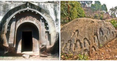 Мегалитические пещеры Барабар. Войны богов.