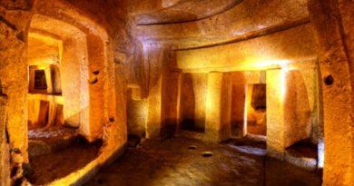 Мир подземелий Мальты. Хал-Сафлиени
