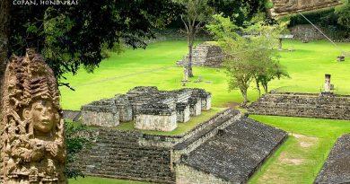 Копан – королевский город в джунглях.