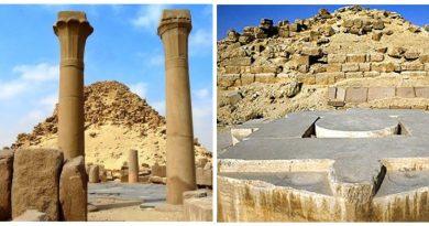 Звездные врата в Солнечном храме Абу-Гораб. Египет