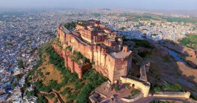 Мехрангарх — крепость гигантов и Голубой город Джодхпур.