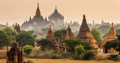 Баган — древний город тысячи храмов.