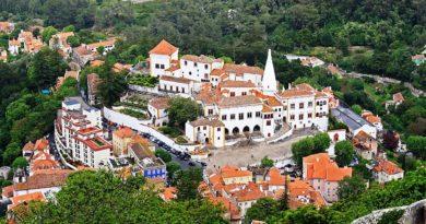 Дворец Синтры — обитель богов и королей. Лиссабон