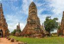 Аютайя — «Восточная Венеция» Таиланда. Ват Чайваттханарам.