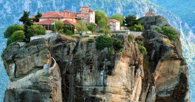 Парящие Монастыри Метеоры. Греция