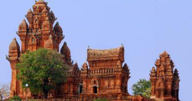 Чамские башни древнего королевства. Вьетнам