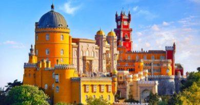 Дворец Пена — сказка Португалии