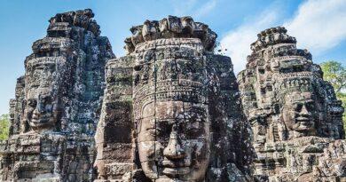 Храм Байон – лица Ангкора