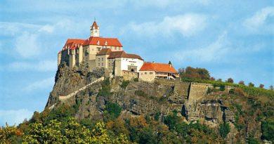 Ригерсбург — замок «цветочной ведьмы». Австрия