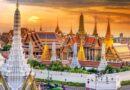 Большой дворец и Храм Изумрудного Будды в Бангкоке.