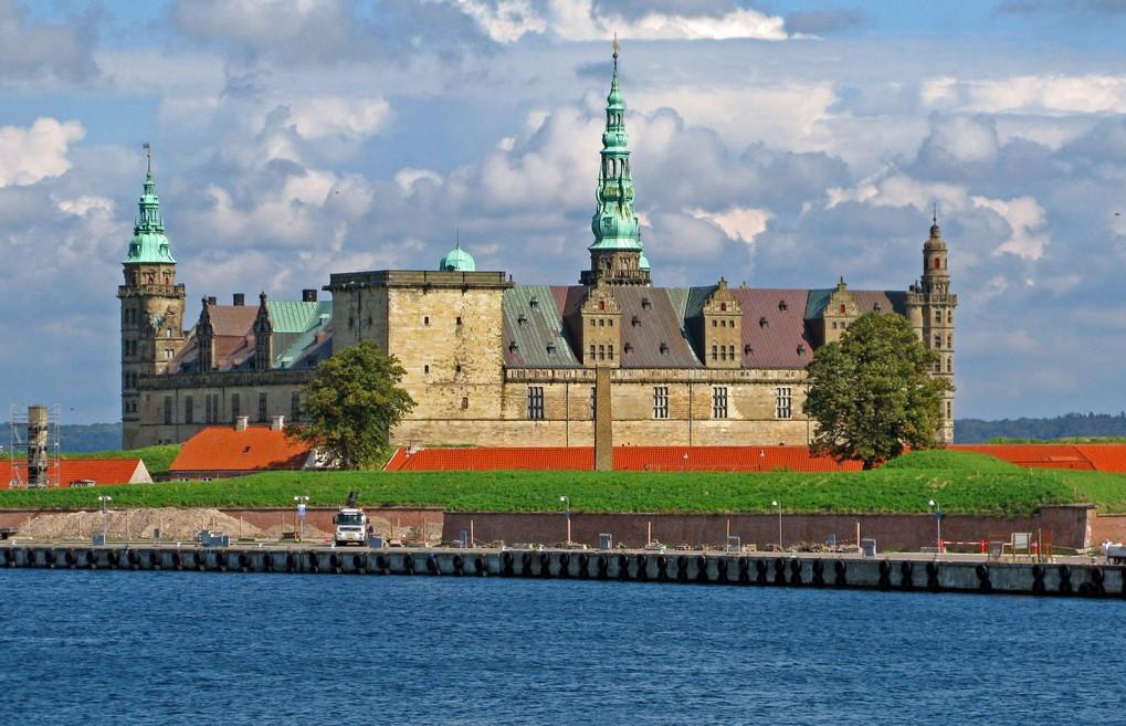 Кронборг — замок Гамлета. Дания