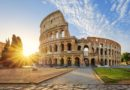 Колизей — знаменитый амфитеатр Флавиев — «визитная карточка» Рима.