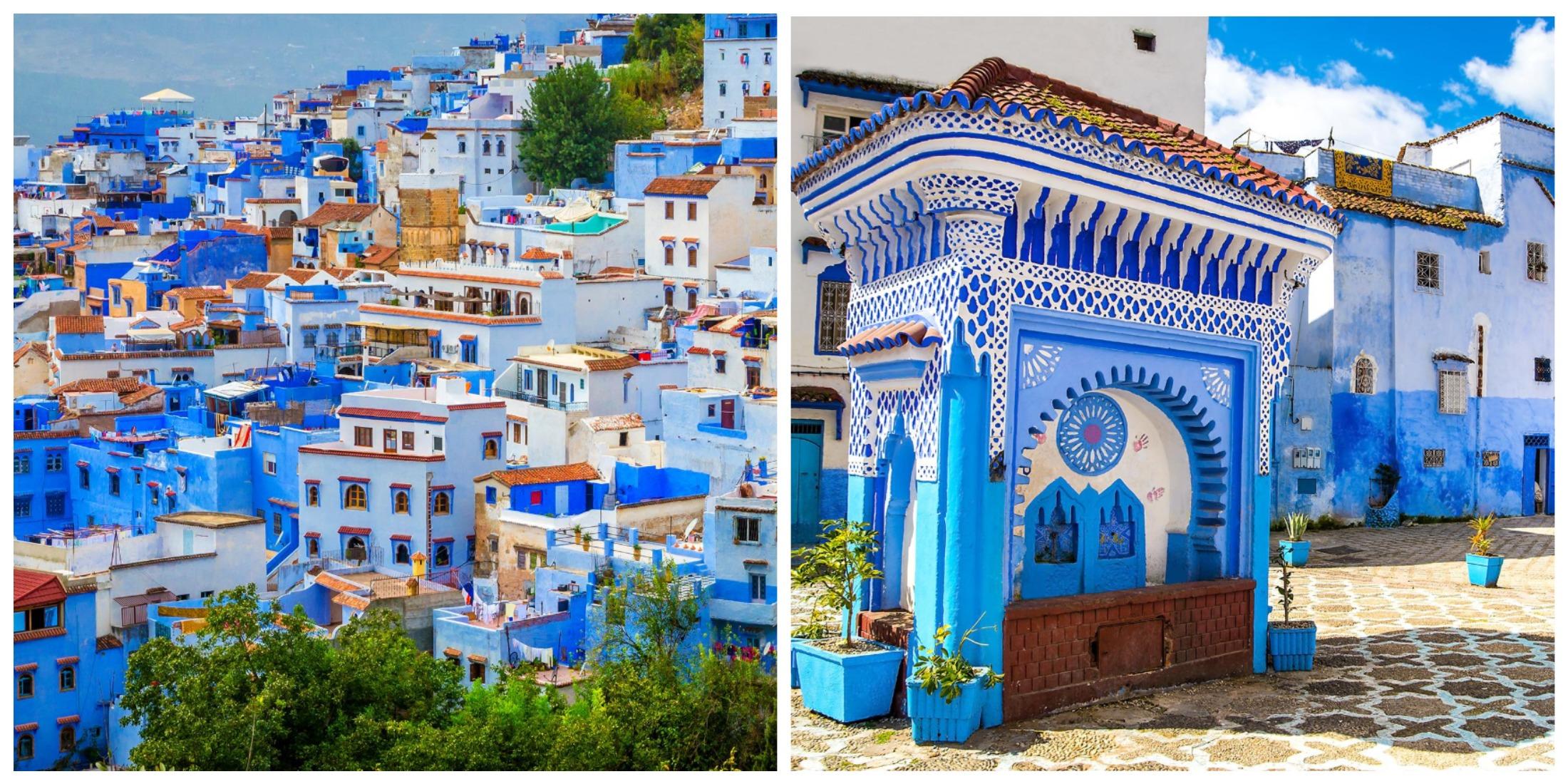 Шавен – голубая жемчужина Марокко