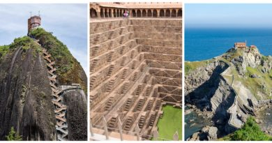 Самые крутые и головокружительные лестницы мира.