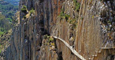 Королевская тропа – экстрим для туристов. Испания