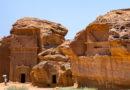 Мадаин-Салих – древний город среди скал и пустыни.