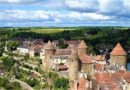 Город-крепость Семюр-ан-Осуа — сказка герцогов Бургундских.