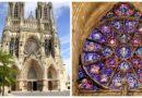 Реймсский собор — место коронации французских монархов.