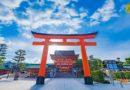 Фусими Инари — древний город мира и покоя. Лисы-кицунэ. Киото