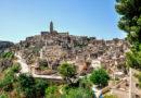 Пещерный город Матера возрастом 9000 лет. Италия