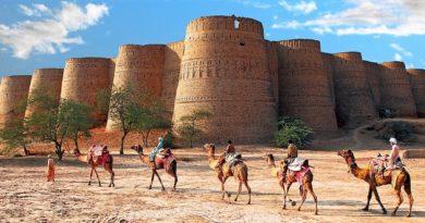 Форт Деравар — восточная сказка Чолистана